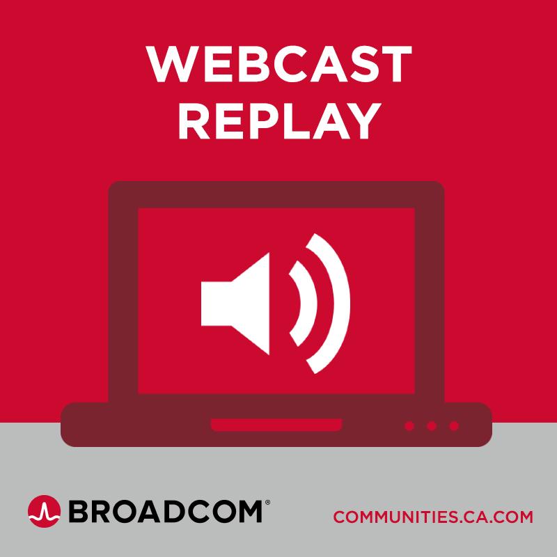 New Broadcom Communities Walkthrough and Q&A Session – June