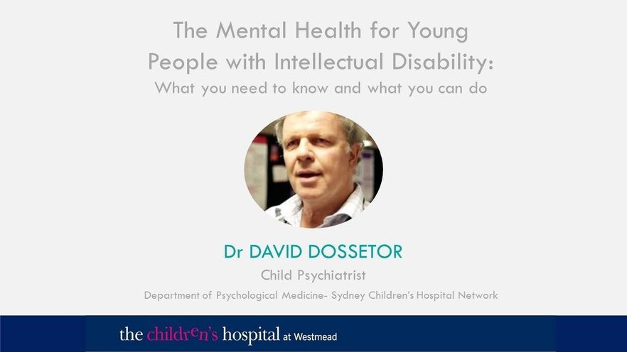 The Mental Health for Young People with Intellectual