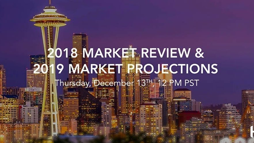 A Look Back on the 2018 Seattle Area Real Estate Market