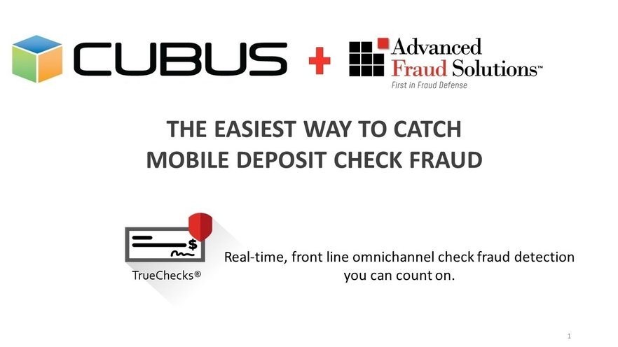 The Easiest Way to Catch Mobile Deposit Check Fraud
