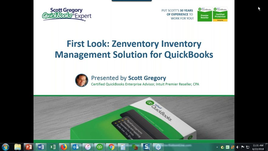 Zenventory Inventory Management Solution for QuickBooks Pro