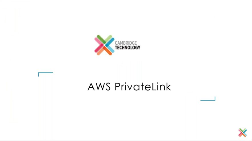 Introduction to AWS PrivateLink | GoToStage com