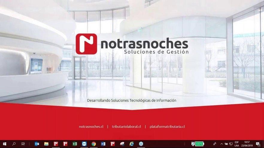 Resultado de imagen para Notrasnoches logo